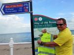 Biochemica's Warehouse Operations Manager Dave Thomas starts his Coast-to-Coast challenge