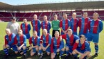 The 2013 Biochemica charity football team