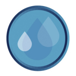 Pool Chemical Products logo droplet