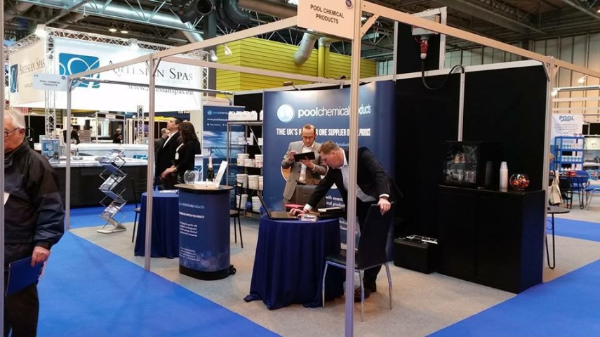 Pool Chemical Products team at UKP&S expo